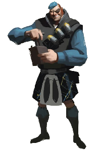 Demoman Concept Art